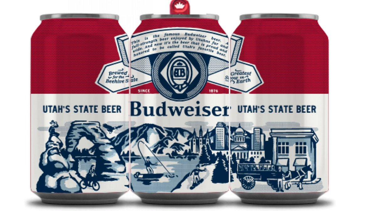 Budweiser, Utah Eyaletinin Resmi Birası Olmak İstiyor