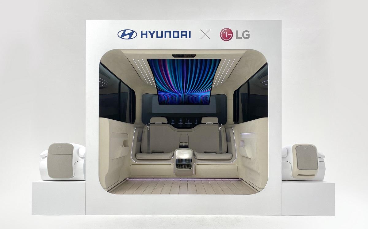 LG ve Hyundai'den Elektrikli Araçlara Ev Rahatlığı Getirecek İş Birliği