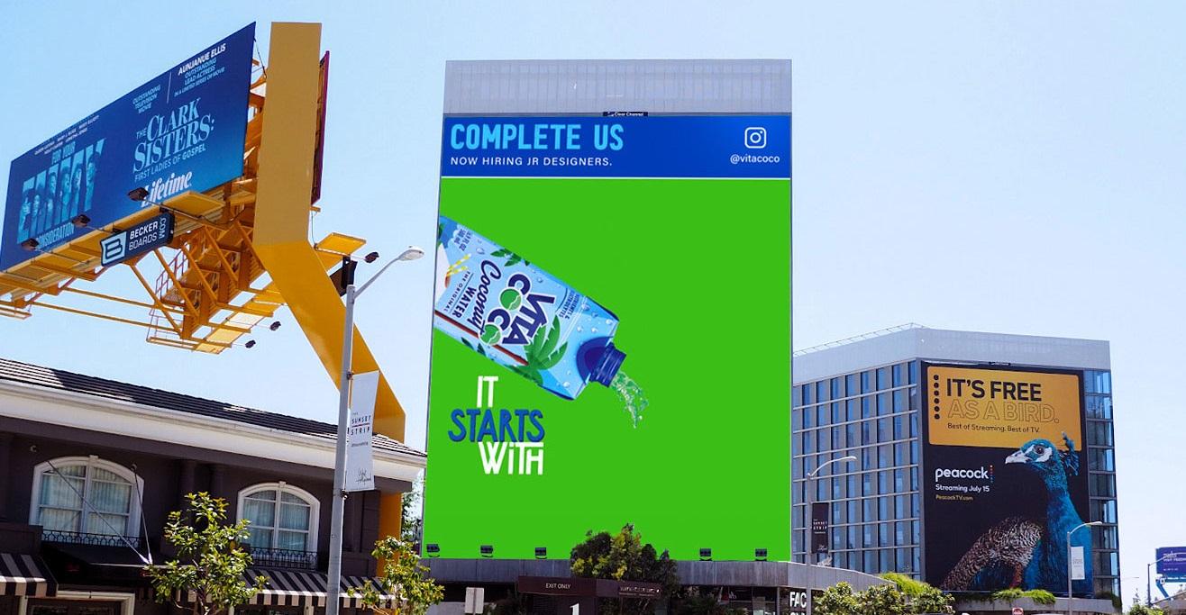 Bu Marka, Yarım Kalan Reklam Panosunu Tamamlayanlardan Birini İşe Alacak