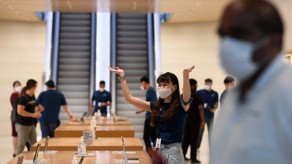 Apple, Çalışanları İçin Yüz Maskesi Tasarladı