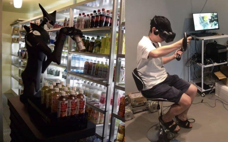 Japonya'da Market Rafları, Uzaktan Kontrol Edilen Robotlar Tarafından Düzenleniyor