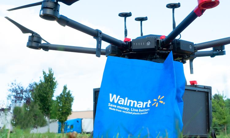 Walmart, Drone ile Teslimat Hizmetlerine Başlıyor