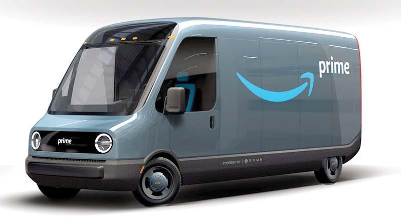 Amazon, Rivian İş Birliğinde Üretilen İlk Elektrikli Aracını Tanıttı