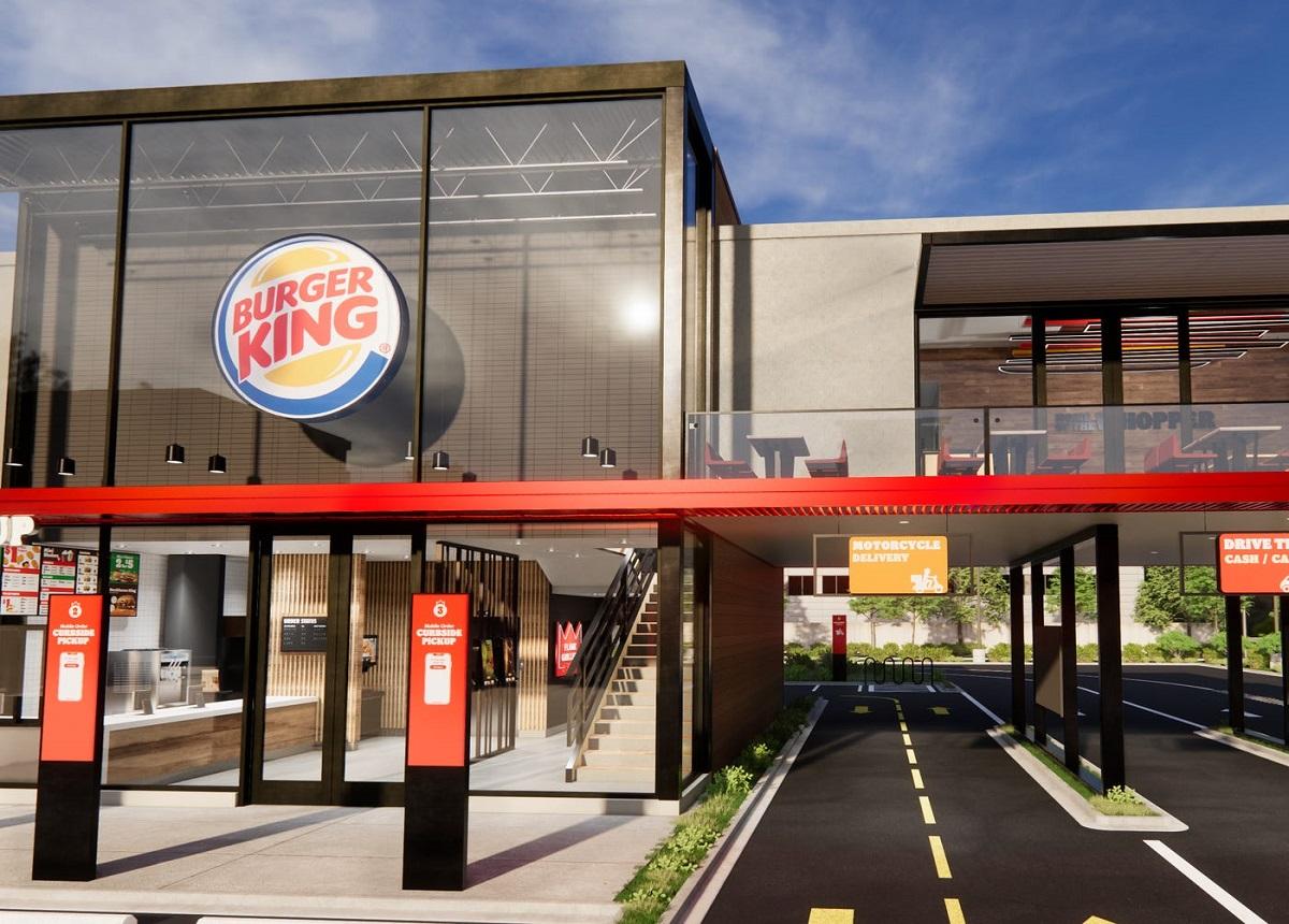 Burger King, Yeni Teslimat Seçenekleri Bulunan Restoranlar Açıyor