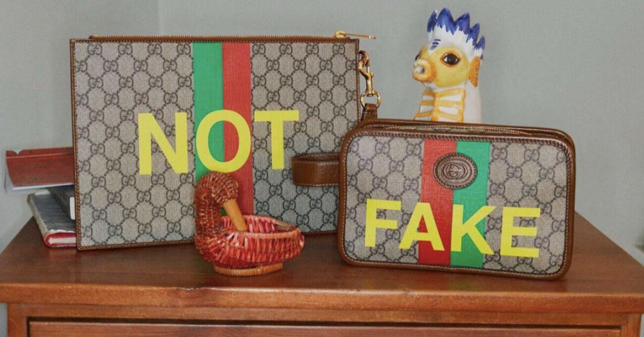 Gucci Kendi Taklit Koleksiyonunu Çıkarttı