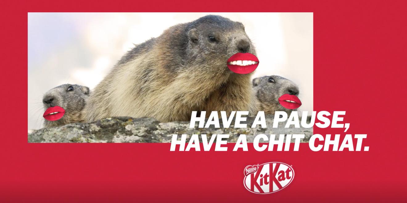 KitKat Yeni Sloganını Arıyor