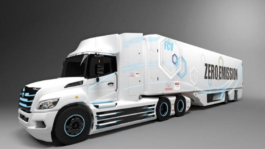 Toyota, Hidrojenle Çalışan Tırını Duyurdu