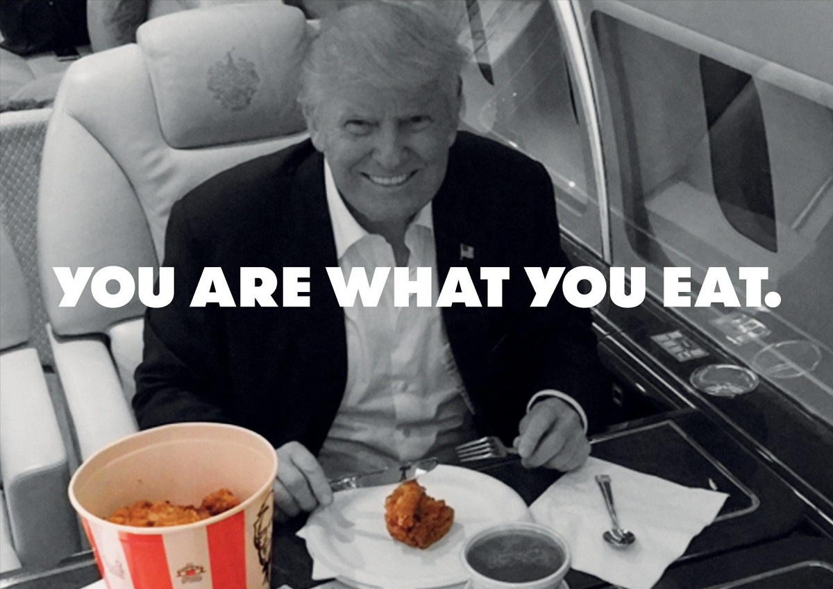 Grill'd'den Fast Food Devlerini Hedef Alan Trump Odaklı Kampanya