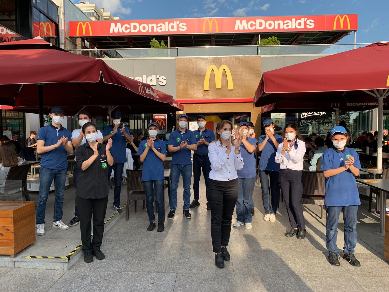 McDonald's, 24 Ekim'i Çalışan Takdir Günü İlan Etti