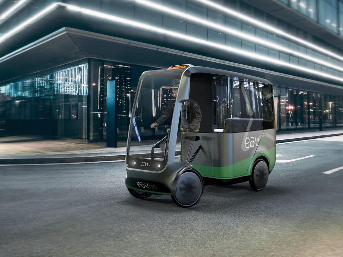Bu Elektrikli Taksi, Trafiği 5 Yılda Yarı Yarıya Azaltacak