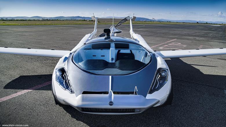 Klein Vision, Uçan Arabasını Gelecek Yıl Piyasaya Sürmeyi Amaçlıyor