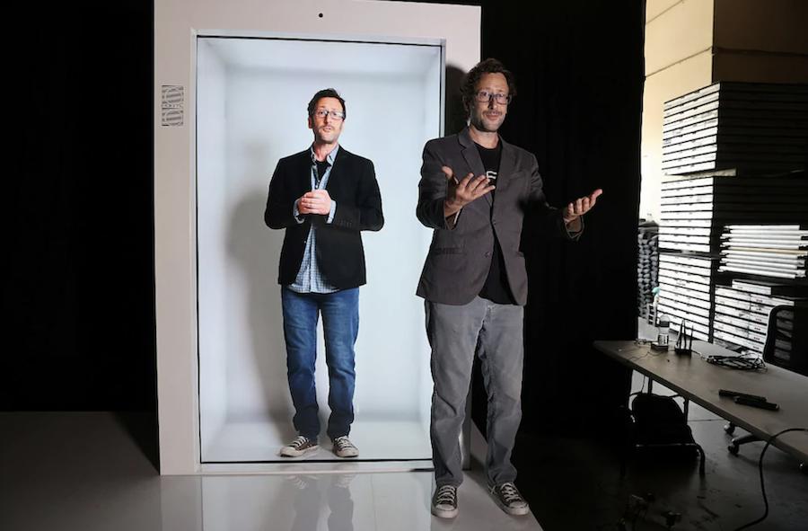 Video Görüşmeleri Hologramlı Hale Getiren Cihaz