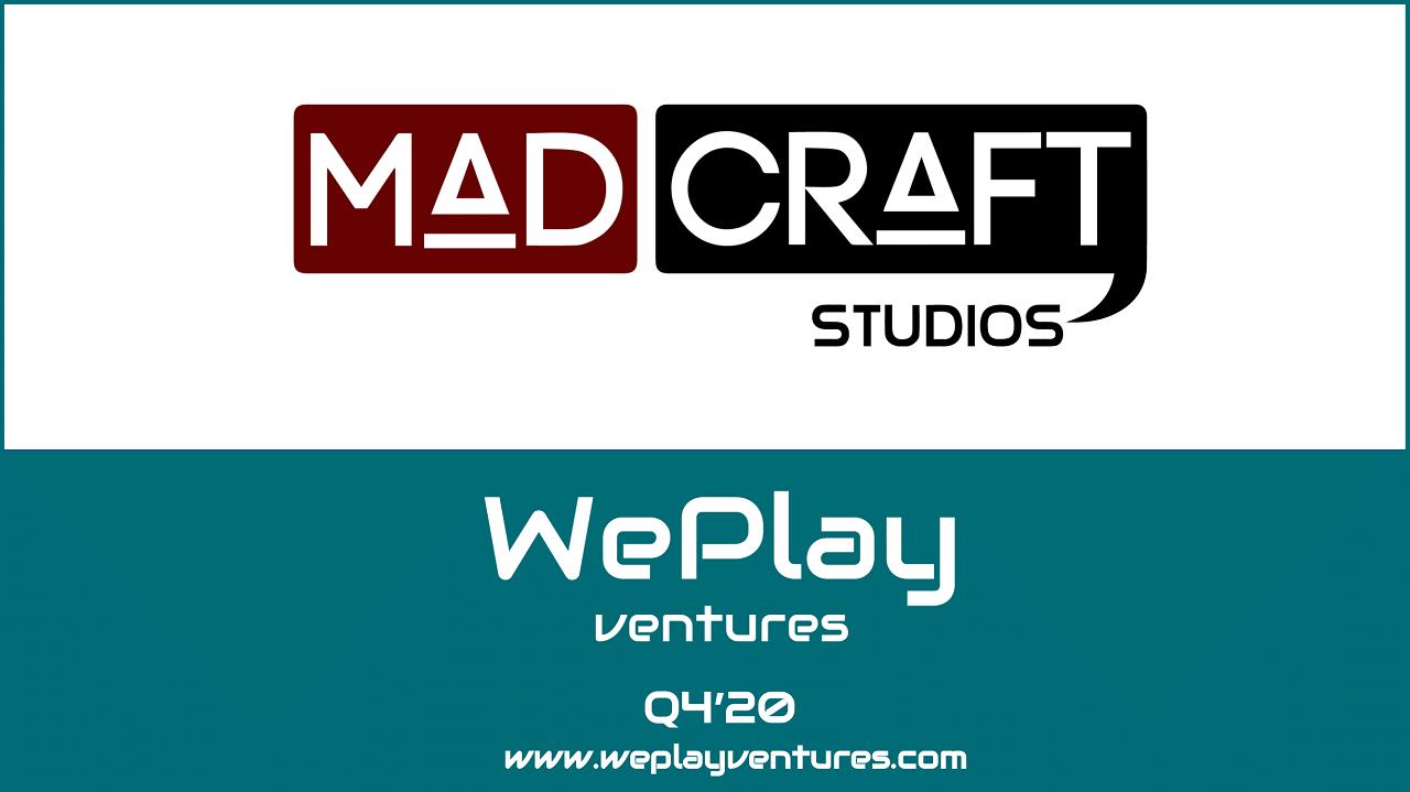 Oyun Geliştiricisi Madcraft Studios, WePlay Ventures'dan Tohum Yatırımı Aldı