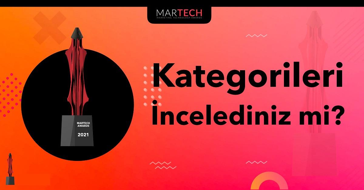 MarTech Awards Kategorilerini İncelediniz mi?