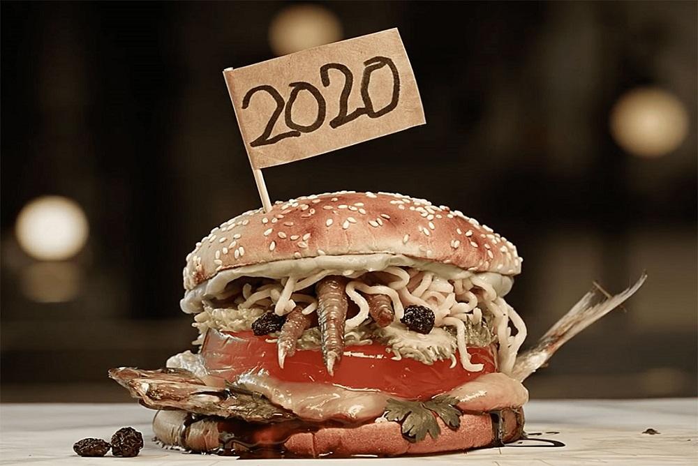 Burger King, 2020'yi Temsil Eden Bir Hamburger Yaptı