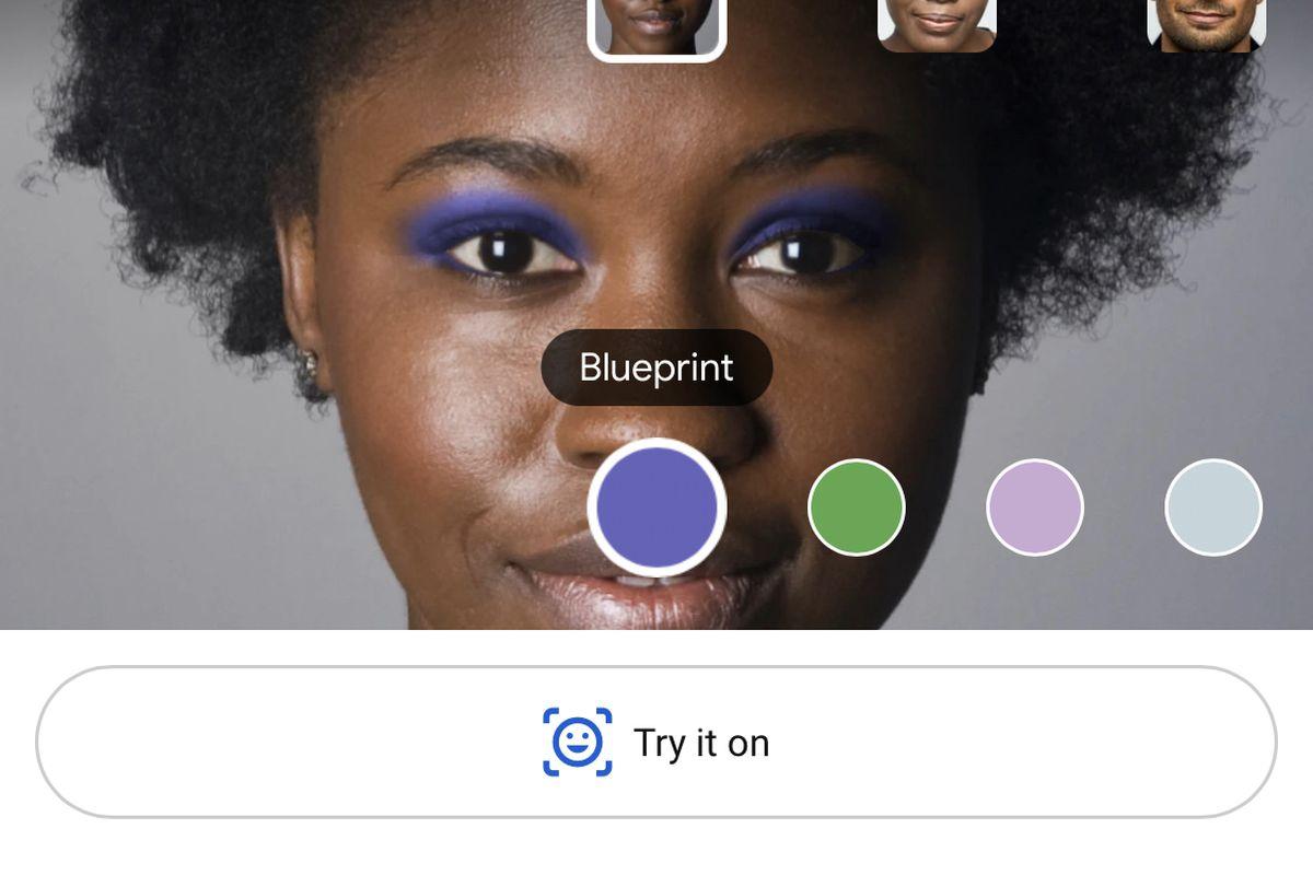 Google'ın Yeni Özelliği, Makyaj Malzemelerini Kamerada Denemenizi Sağlıyor