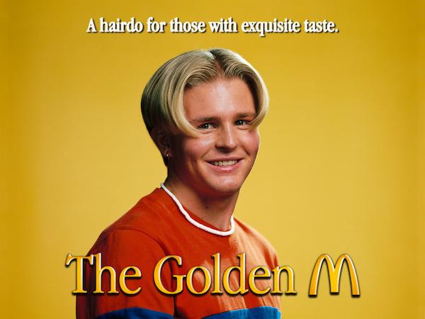 McDonald's, M Şeklinde Saç Kesimi Yapan Eski Moda Bir Berber Dükkanı Açtı