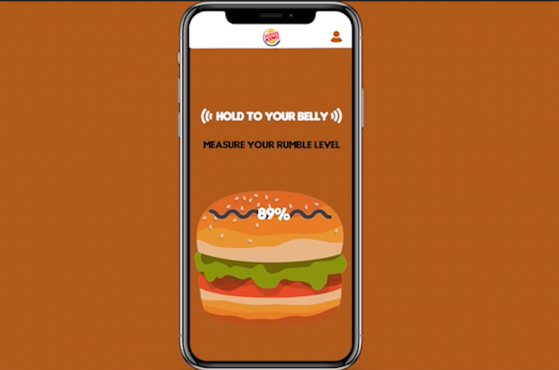 Burger King, Karnı Guruldayanlara Kupon Veriyor