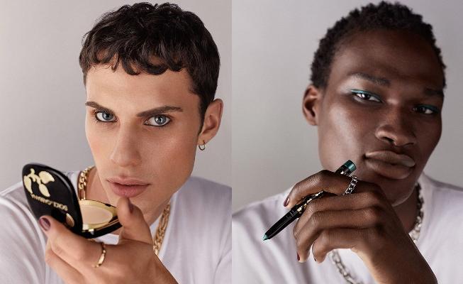 Dolce & Gabbana Yeni Makyaj Koleksiyonunu Tanıtırken Erkek Model Kullandı