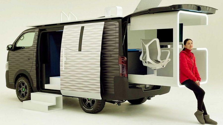 Nissan'ın Yeni Uzaktan Çalışma Konseptli Karavanı