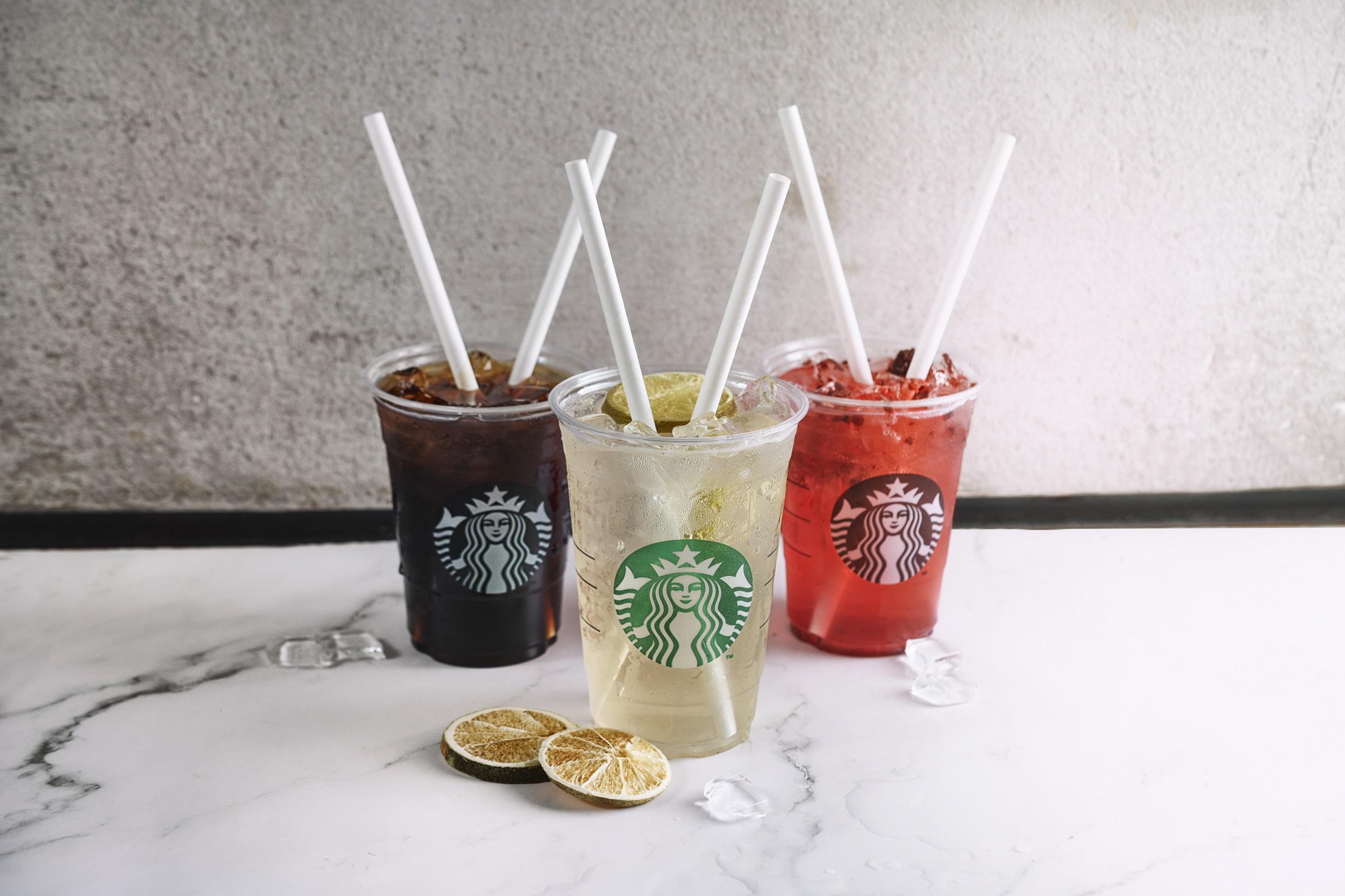 Starbucks'da Artık Sadece Kağıt Pipet Var