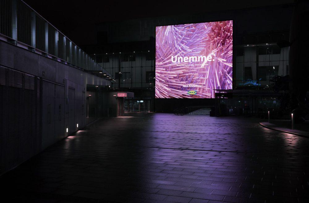 IKEA Finlandiya, İnsanların Rüyalarından Sanat Yarattı