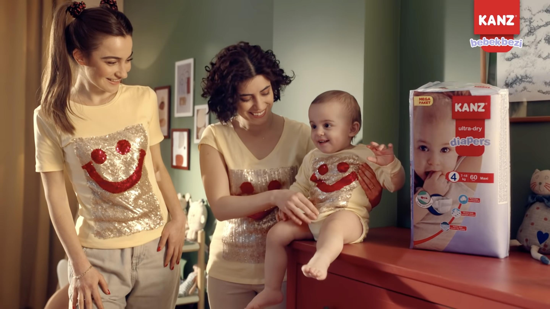 Kanz, Bebek Bezi Sektöründe de Faaliyet Göstermeye Başladı