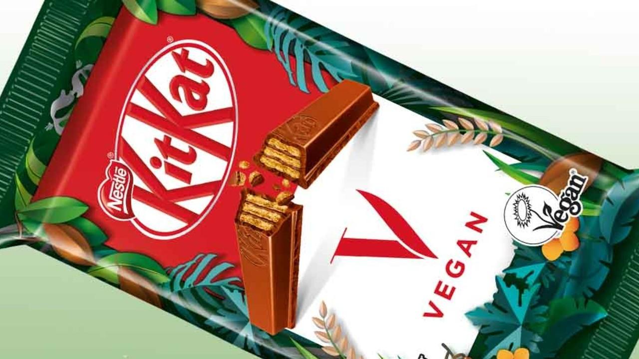 Nestlé, Vegan KitKat'ı Piyasaya Sürdü