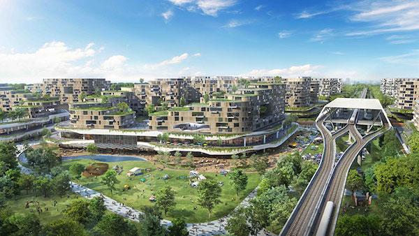 Singapur Akıllı Yeşil Şehir İnşa Ediyor