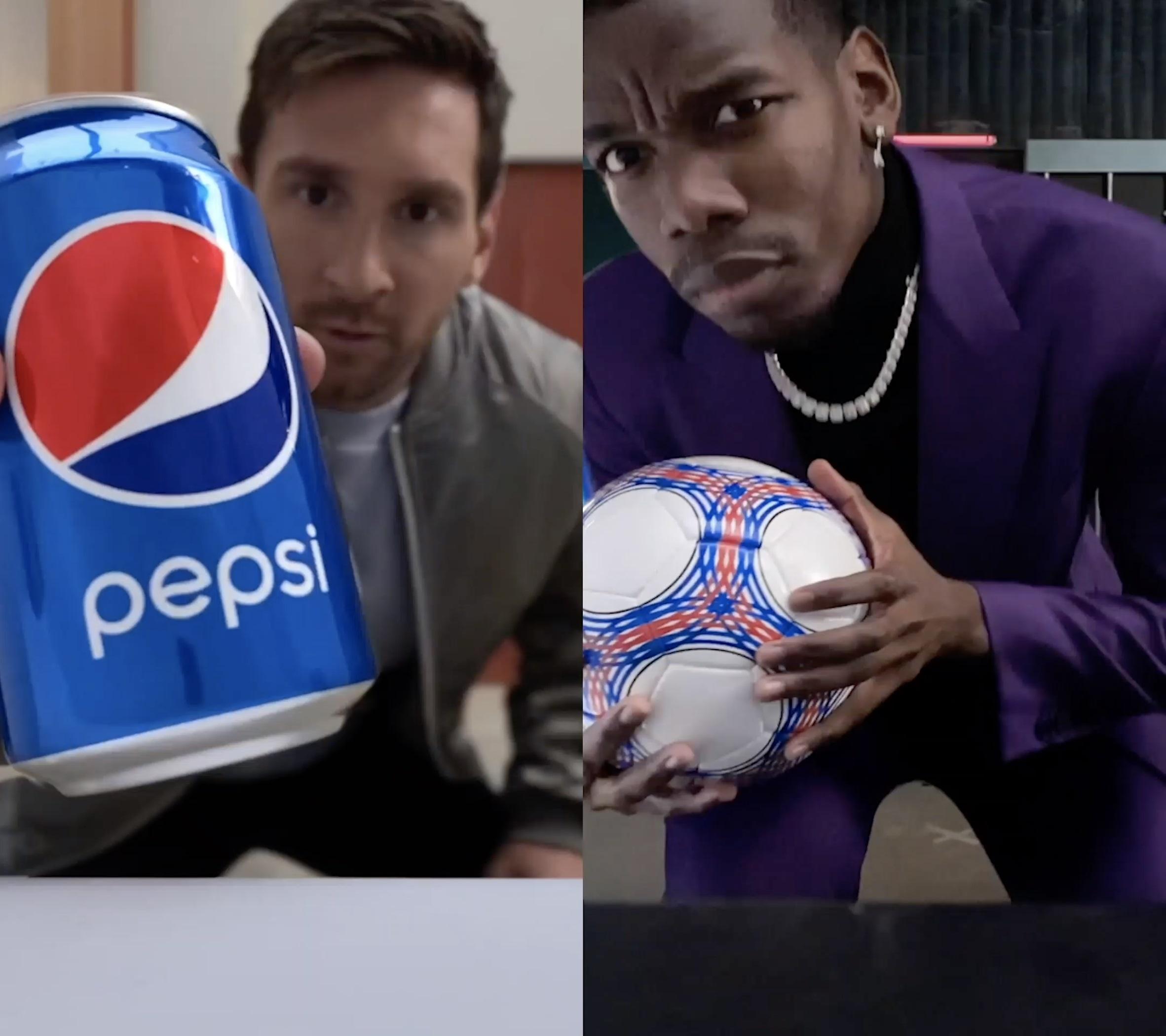 Pepsi, Futbol Severlere Favori Yıldızlarıyla TikTok'ta Düet Yapma Fırsatı Sunuyor