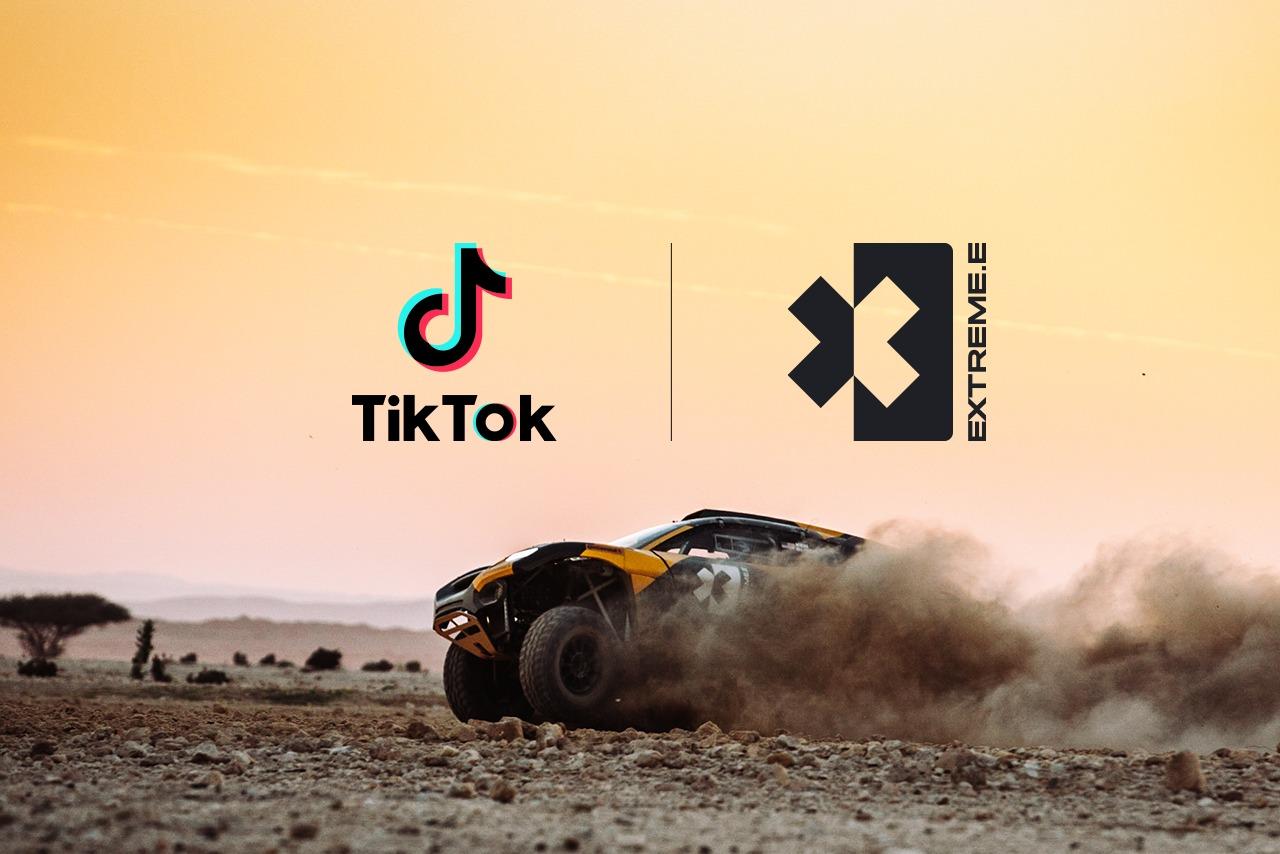 TikTok, Extreme E ile Güçlerini Birleştirerek İklim Değişikliğine Dikkat Çekiyor