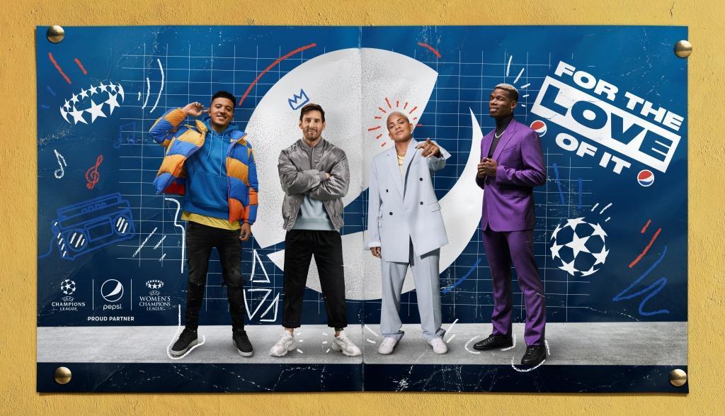 Pepsi, Yeni UEFA Şampiyonlar Ligi Kampanyasını Başlattı