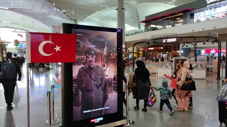 İstanbul Havalimanı'ndan Çanakkale Zaferi İçin Proje: Dinle Yolcu!