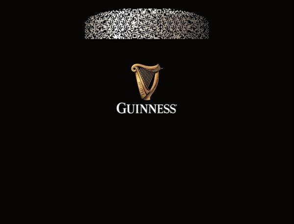 Guinness, Bira Köpüğünü QR Koda Dönüştürdü