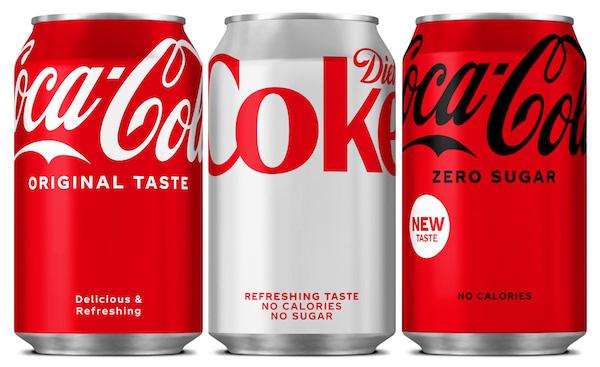 Coca-Cola Yeni Minimalist Ambalaj Tasarımını Tanıttı