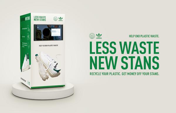 Adidas'ın Geri Dönüşüm Kutuları, Plastik Şişeleri Yeni Stan Smith Ayakkabılar İle Değiştiriyor