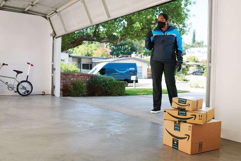 Amazon ABD'de Artık Garajlara da Teslimat Yapıyor