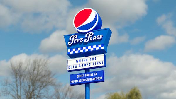 Pepsi, Yeni Sanal Restoranı Pep's Place'i Tanıttı