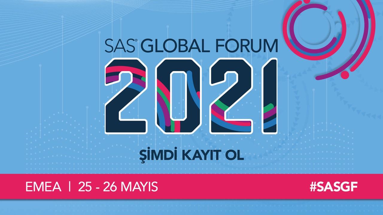 SAS Global Forum 2021'de Merak ve İnovasyon Yeni Cevapların Yolunu Açacak