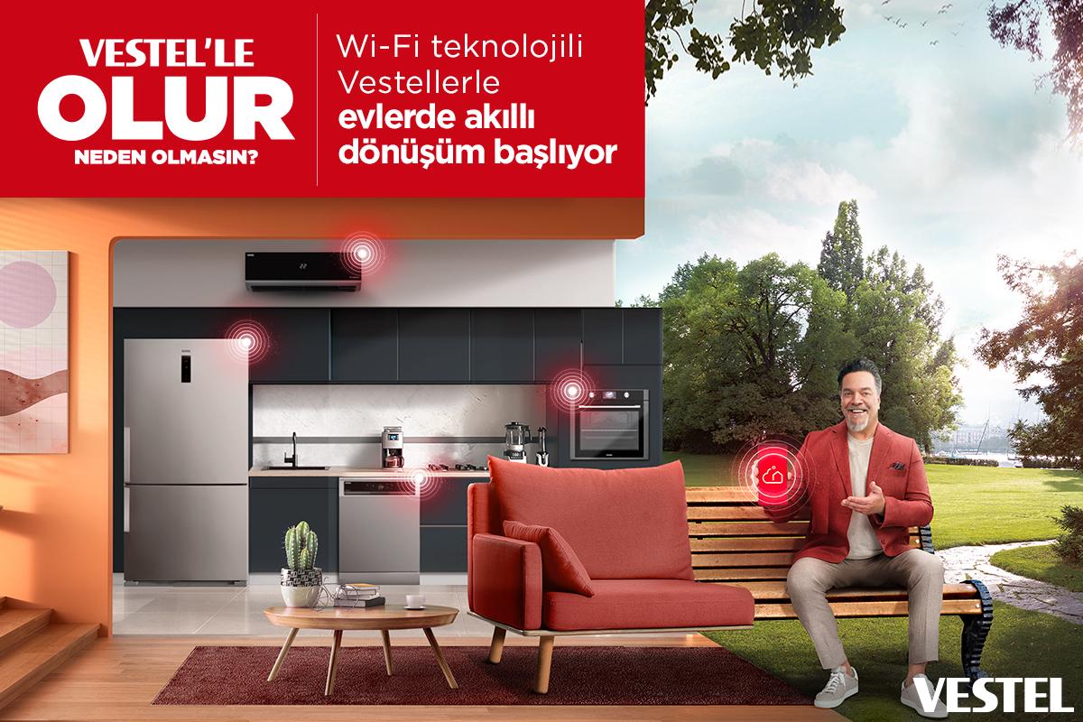 Wi-Fi teknolojili Vestel'lerle, evlerde akıllı dönüşüm başlıyor