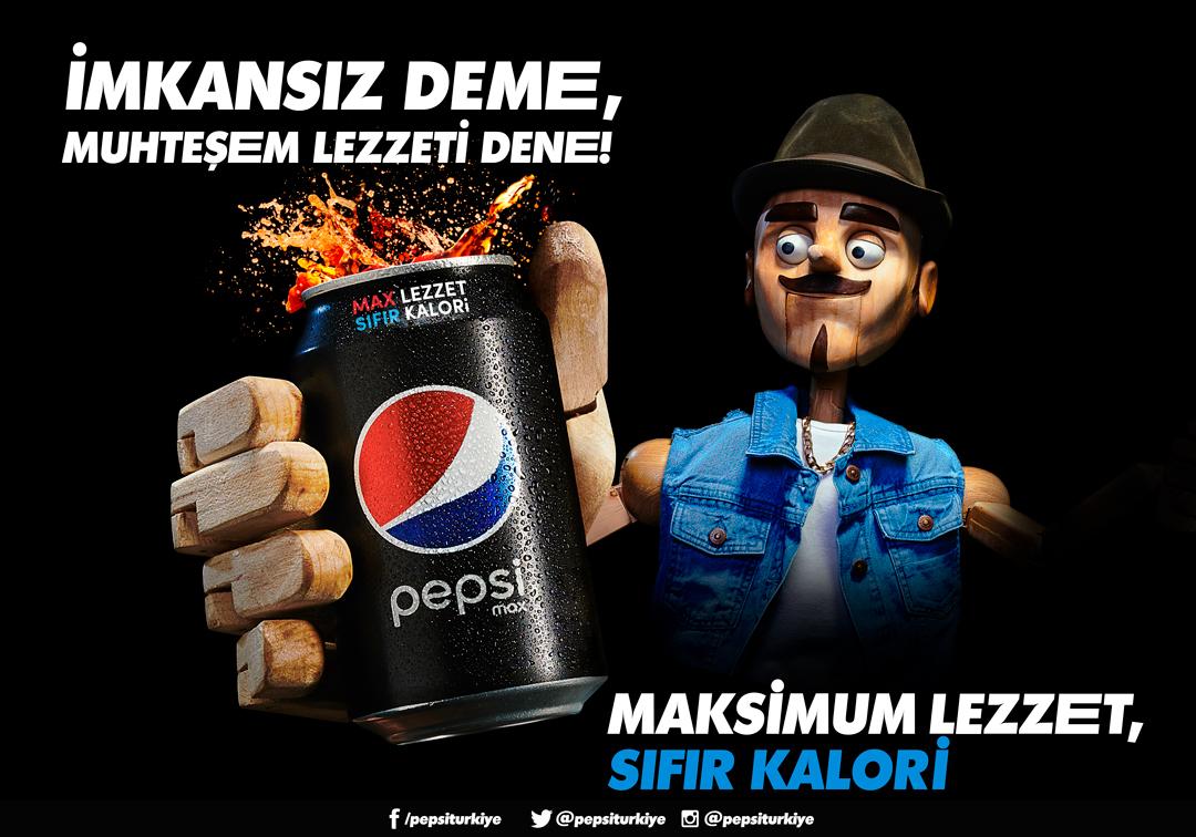 Pepsi'den Pinokyo'lu Reklam Filmi