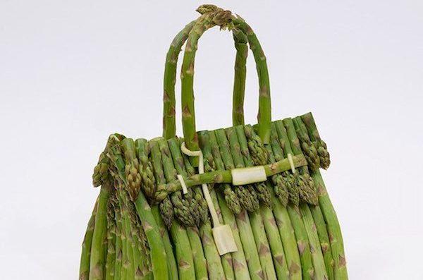 Hermès'in, Gerçek Sebzelerden Tasarlanmış Çantaları