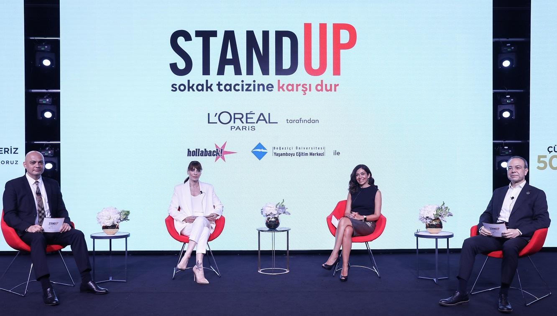 L'Oréal Paris'ten Sokak Tacizine Karşı 5D Hareketi