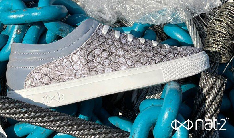 Bu Sürdürülebilir Vegan Ayakkabılar Geri Dönüştürülmüş Baloncuklu Naylondan Üretildi