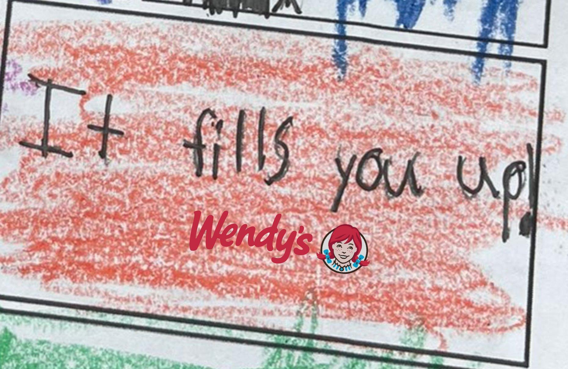 Fast Food Zinciri Wendy's, Bir Çocuğun Çizdiği Resimlerden Reklam Filmi Hazırladı