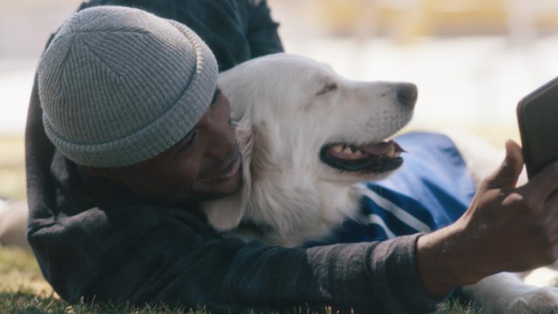 Allianz, destek köpekleriyle olimpik sporcuların yanında