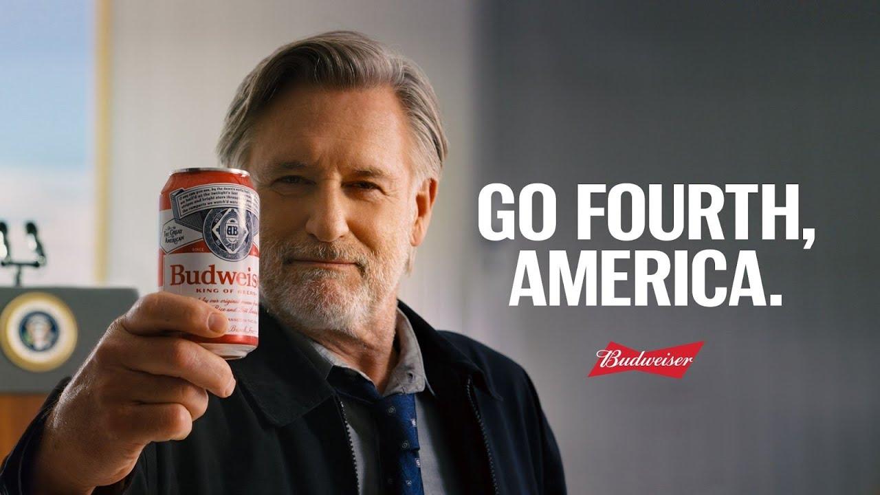 Budweiser, aşı olanlara ücretsiz bira verdiğini Bill Pullman ile duyurdu