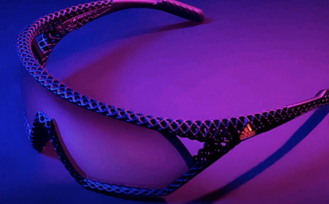 adidas'ın 3D teknolojisiyle üretilen yeni güneş gözlüğü