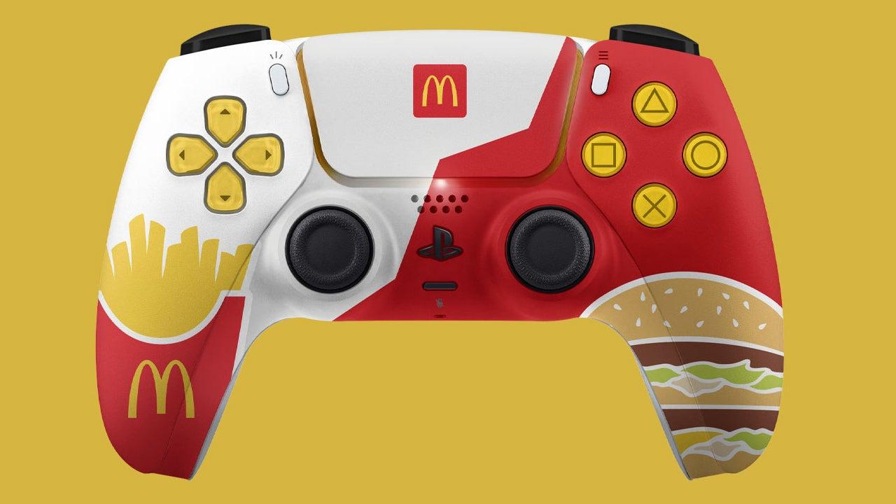 Sony, McDonald's temalı PS5 kontrol cihazlarının çıkışını engelledi