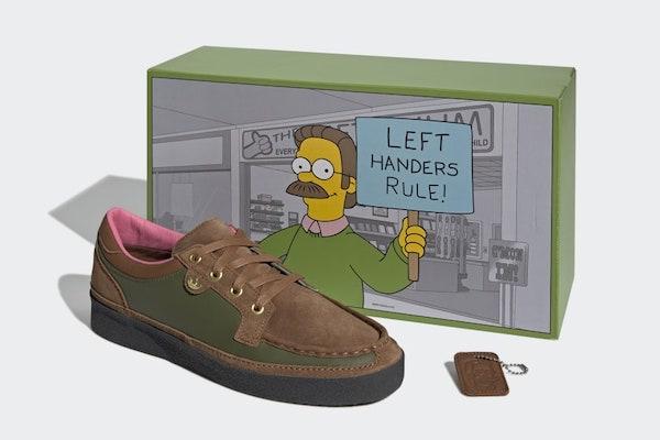 Adidas'tan Simpsons karakterinde ayakkabı tasarımı